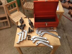 Sealey hydraulic puller kit 4, 6 and 8 inch legs