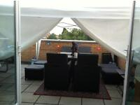 Homeswap! Exchange 2 bed Penthouse TW3 Large Garden Roof terrace or 3 bed House TW4 as 3 way swap?