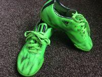 adidas football boots green 1 uk size