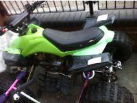 BIG Twin Pipe 110cc Quad