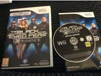 wii the black eyed peas experience Special Edition disc GAME Boxed with booket