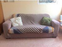 Three seater sofa - URGENT MUST GO IN NEXT FEW DAYS