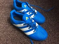 football adidas boots size 3 uk