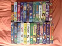 26 Disney VHS Video Tapes Free (Inc. Cinderella, Bambi, Jungle Book, Robin Hood, Lady & The Tramp)