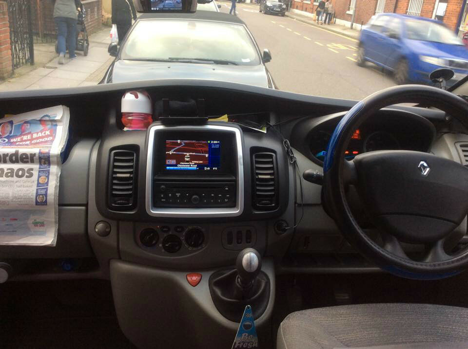 Renault Trafic 9 Seater Renault Trafic Taxi 9 Seater