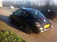 !!!Black VW Beetle Abt Tuned, Mot , Reliable Subtle mods ,19: BBs Rep Alloys!!!