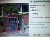 NEW BOXED GROW HOUSE - PLANTS GARDEN,GREENHOUSE VEGETABLES,PLANTS,FLOWERS,STORAGE NOT SHED PLAYHOUSE
