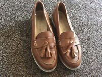 river island loafer women size 4 uk