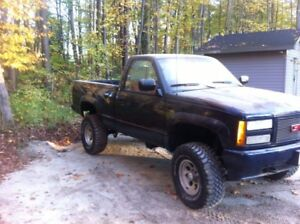 1990 chev short box regular cab