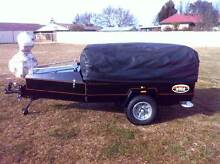 Motorcycle Camper and Cargo trailer by Elite Products Guyra Guyra Area Preview