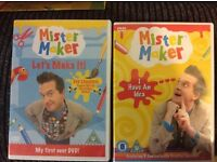 Mister Maker DVDS £5 for Both