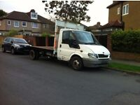 Ford transit Long wheel base 15ft recovery truck 125BHP