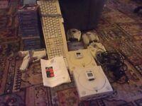 sega dreamcast console x2