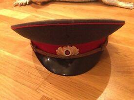 Russian Soviet USSSR military cap/hat