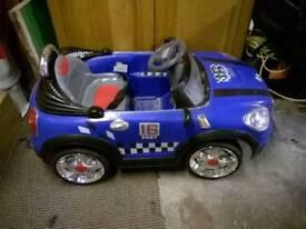 Electric children's car