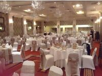 Burlap Hessian Lace Chair Sashes and Table Runners