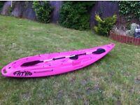 FatYak kayak pink