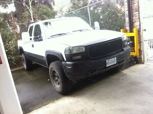 For sale or trade for a half ton Gm/chev