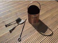 Coal bucket & tools