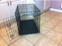 Dog crate small.