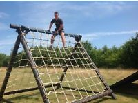 Fitness obstacle course set