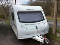 2009 Sprite Major 5 Caravan with motor mover.