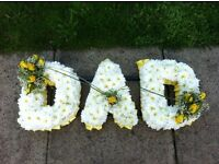 Funeral tributes, competitively priced, sympathetic service and will do my very best to help you.