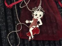 Brand New Betty Boop Necklace with A Gift Bag