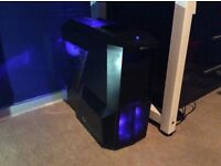 Zalman z11 plus mid tower gaming pc case, (CASE ONLY). Worth £60