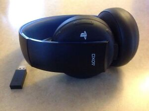 PS Gold wireless headset