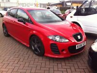 Seat Leon 2.0 Tdi *** with BTCC bumpers, skirts and spoiler***