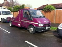 Ford Transit 2001 Spec Lift Recovery Truck Very clean Tidy truck