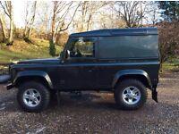land rover defender 90 county 2.5 td5 diesel 3 door hard top manual