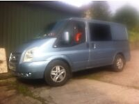 07 FORD TRANSIT 2. 0 tdci, RELIABLE .MOT .FACTORY ALLOYS