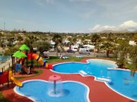 Two 2 bedroomed static caravans for holiday rental near to Benidorm
