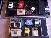 Guitar Pedals - Flight Case - Power Supply