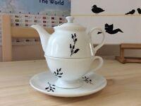 New Fine Bone China Teapot (Gift, Wedding)