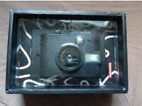 Brand new Lomography black instant camera