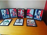 A choice of marvel prints!