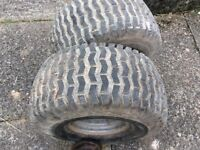 RIDE ON LAWNMOWER WHEELS AND TYRES