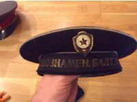 Russian Military Navy Hat/Cap Baltic fleet. Collectors item or fancy dress - Small