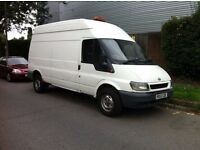 Ford Transit 2003 T350 Long wheel Base High Roof 2.4 TDDI RWD 1 YEARS MOT