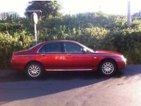 Rover 75 SE Connoisseur 1.8 Low Mileage MOT Jan 2017 Selling as Spares or Repair as Non Runner