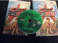 Wii The Ant Bully GAME Boxed with booklet
