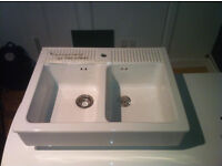 Sink - practically new and perfect condition - £50 ono.