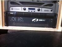 audio head ah4000 professional power amplifier. NOT void turbosound matrix