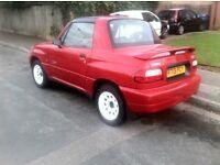 Suzuki convertible x90, Rare motor, 74k low miles, Long mot, BARGAIN,,