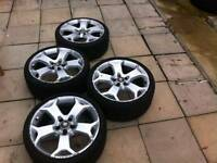 snowflake 19 inch alloy wheels