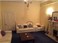 Two beautiful big rooms in Leith flatshare (no couples, no students, no pets-sorry!)