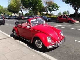 1970 Vw beetle converted to Paris soft top
